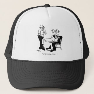 Restaurant Cartoon 4334 Trucker Hat