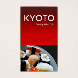 Restaurant Catering Eateries Cuisine Business Card