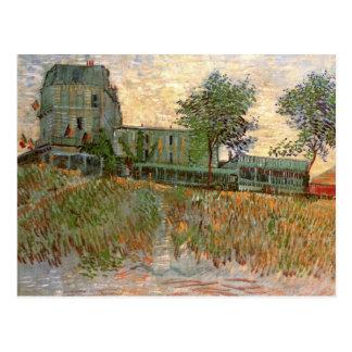 Restaurant de la Sirène Asnières, Van Gogh Fine Postcard