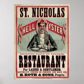 Restaurant de Saint-Nicolas, Cincinnati, annonce v