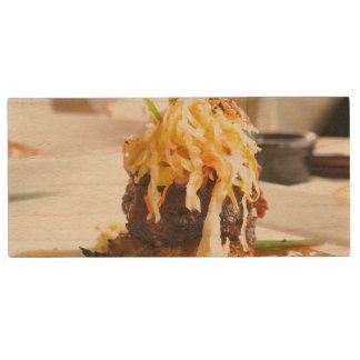 Restaurant Food Wood USB 3.0 Flash Drive