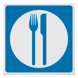 Restaurant Highway Sign