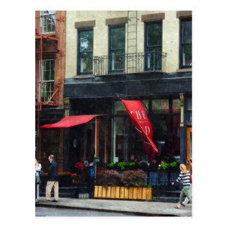 Restaurant in Chelsea Postcard