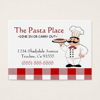 Restaurant italien cartes de visite