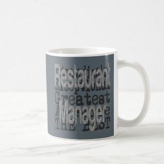 Restaurant Manager Extraordinaire Coffee Mug