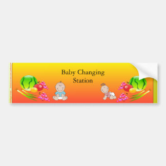 Restaurant Supplies, Baby Changing Station Sticker