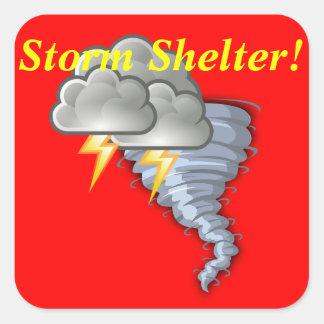 Restaurant Supplies Storm Shelter Sticker