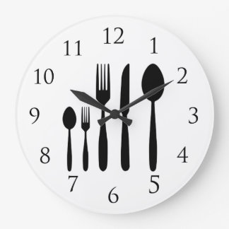 Restaurant Wall Clock with Numbers