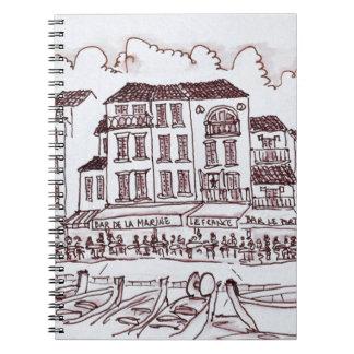 Restaurants Waterfront | Cassis, France Notebook