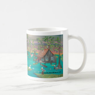 Resting after a Long Day Fishing Coffee Mug
