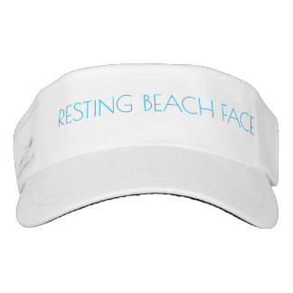 Resting Beach Face Visor
