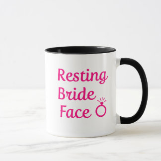 Resting Bride Face women's coffee mug