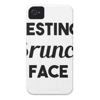 Resting Brunch Face Case-Mate iPhone 4 Cases