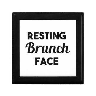 Resting Brunch Face Gift Box