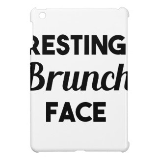 Resting Brunch Face iPad Mini Case