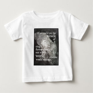 Resting Buddha Photo, Miracle of a Single Flower Baby T-Shirt