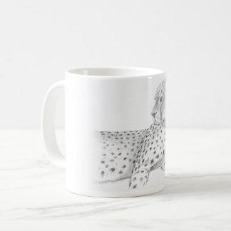 Resting  Cheetah  Mug