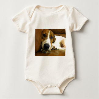 Resting Dog Baby Bodysuit