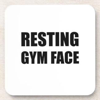 Resting Gym Face Coaster