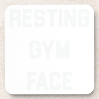 Resting Gym Face Coaster