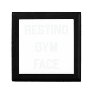 Resting Gym Face Gift Box