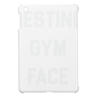 Resting Gym Face iPad Mini Covers