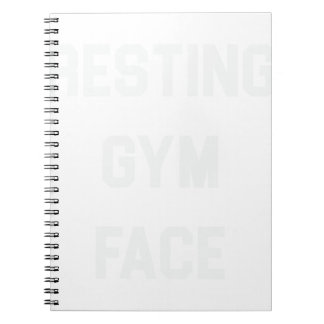 Resting Gym Face Notebook