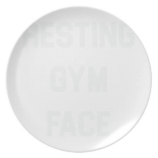 Resting Gym Face Plate