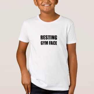 Resting Gym Face T-Shirt
