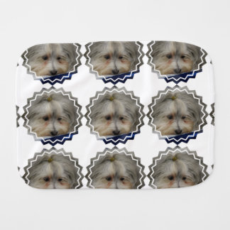 Resting Havanese Dog Burp Cloths