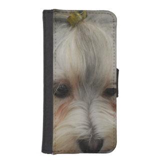 Resting Havanese Dog Phone Wallet