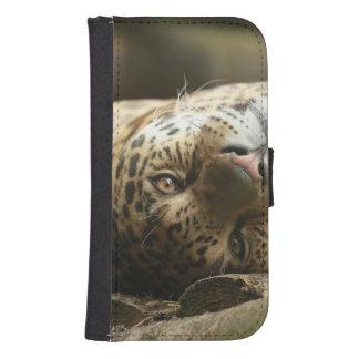 Resting Jaguar Samsung S4 Wallet Case