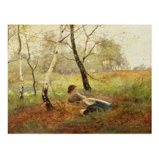 Resting Postcard