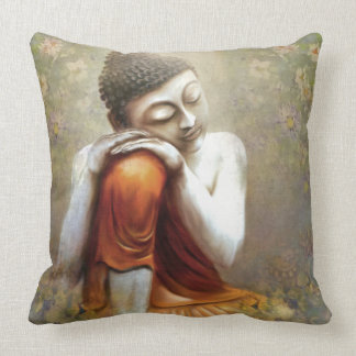 Resting Siddhartha Throw Pillow
