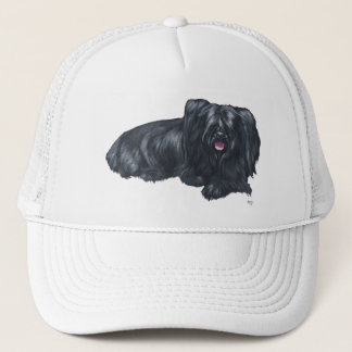 Resting Skye Terrier Trucker Hat