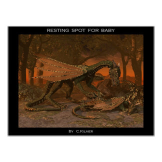 Resting Spot for Baby Poster