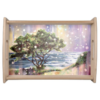 Resting Tree, Kauai, Hawaii Serving Tray