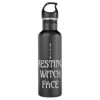 Resting Witch Face 710 Ml Water Bottle
