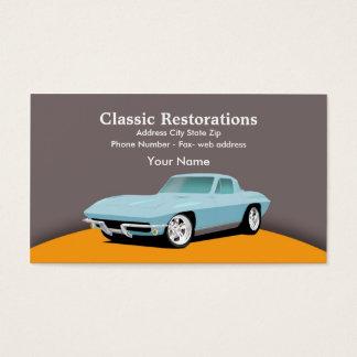 RestoMod Business Card