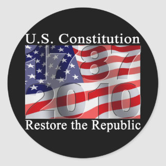 Restore the Republic stickers
