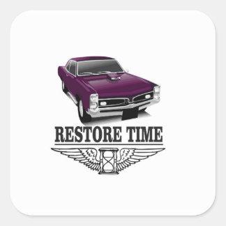 restore time square sticker