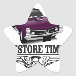 restore time star sticker