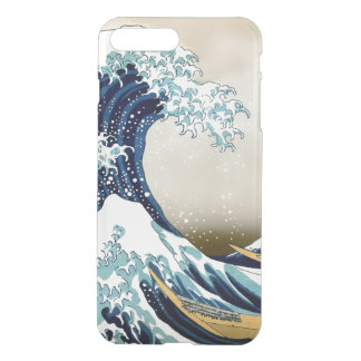Restored Great Wave off Kanagawa by Hokusai iPhone 8 Plus/7 Plus Case