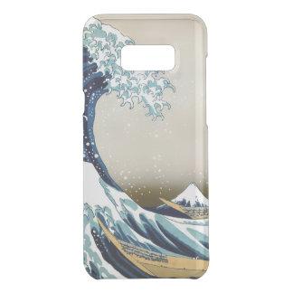 Restored Great Wave off Kanagawa by Hokusai Uncommon Samsung Galaxy S8 Plus Case