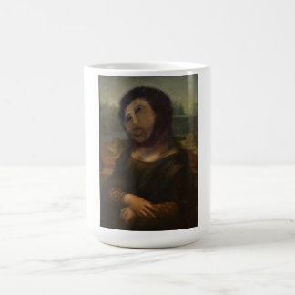 restored Mona Lisa Coffee Mug