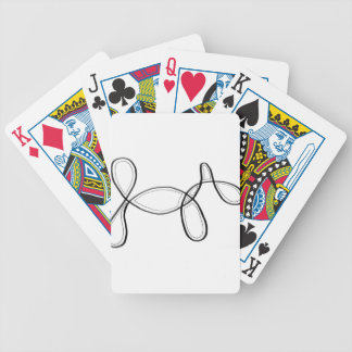 restyledog bicycle playing cards