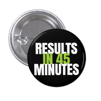 Results in 45 minutes - It Works! Global 1 Inch Round Button