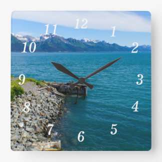 Resurrection Bay Wallclock