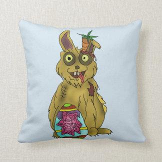 "Resurrection Bunny Throw Pillow 16"" x 16"""
