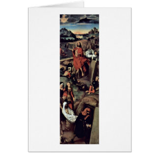 Resurrection By Hans Memling Card